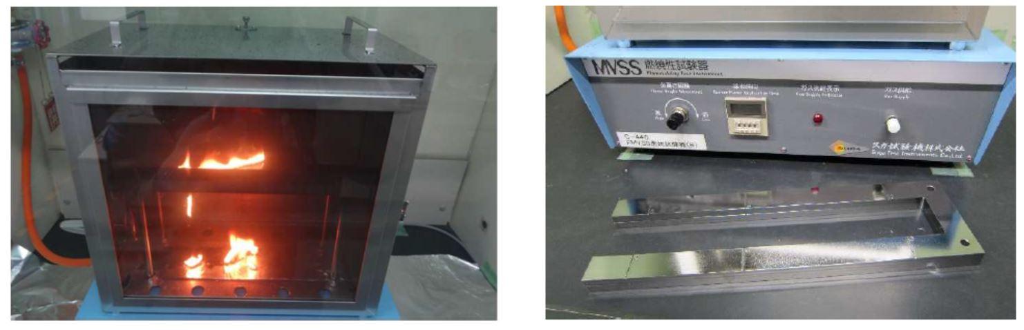 FMVSS No.302燃焼性試験